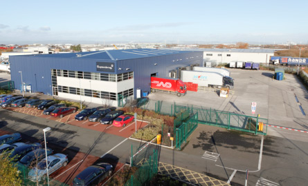 Avonmouth Geared aerial photo